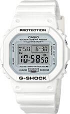 Casio G-Shock * DW5600MW-7 Digital Square White Resin Watch