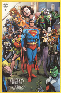 Dark Nights: Death Metal Last Stories of the DC Universe 1:25 Gary Frank Variant