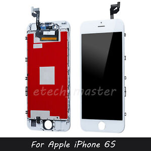 """For iPhone 6S 4.7"""" White LCD Replacement Display Touch Screen Digitizer Assembly"""