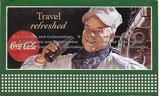 Billboard for Lionel Holder 1947 Coke Travel Refresh Train Engineer
