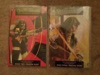 Green Arrow The Longbow Hunters #2,3 Comic Lot DC 1987 Mike Grell