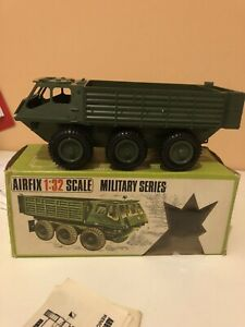 Vintage Airfix 1/32 Scale Military Alvis Stalwart Vehicle Boxed 1970's