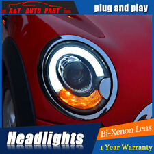 Headlights assembly For BMW MINI R56 2007-2013 Bi-xenon Lens Projector LED DRL