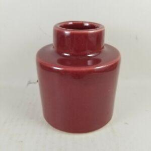 Threshold Quality & Design Burgundy Bud Vase.. New