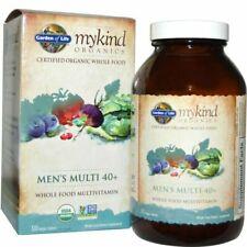 NIB Garden of Life Organic Men's Multivitamin - 120 Tablets  Exp 6/2022