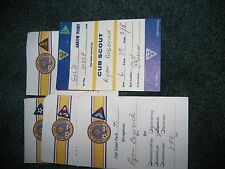 cub scout boy scout pins lot of 5 arrow of light soccer and more!