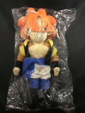 "2004 Dragon Ball GT SS4 Gogeta 13"" Anime Plush Doll Figure NEW Factory Sealed"