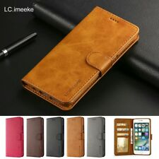 New Wallet Flip PU Leather Phone Case Cover For iPhone