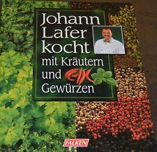 Johann Lafer kocht mit Kräutern und Gewürzen,