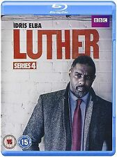 Luther Complete Series 4 Blu Ray All Episodes Fourth Season Original UK Release
