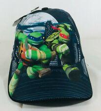 Teenage Mutant Ninja Turtles Cap Pizza Snapback Avec Découpe Bord Gris