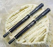 2 pcs Pilot HI-TEC-C Maica 0.4mm roller ball pen  LHM-15C4-B BLACK ink