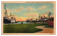 1949 Alabama State Docks, Mobile, AL Postcard *4S