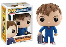 "DOCTOR WHO TENTH DOCTOR WITH HAND 3.75"" POP VINYL  FIGURE FUNKO 355"