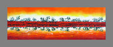 Australia Art Painting print Canvas murray river landscape sunset