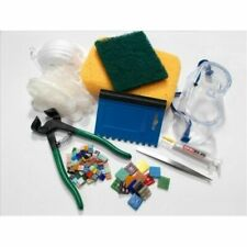 Professional Mosaic Tool Kit Practice Tiles and 10 Discount Code