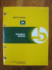 John Deere 6622 Combine Technical Manual Tm 1238
