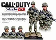 COLLECTIBLE YOU CALL OF DUTY CY60001 U.S. ARMY AMERICAN SOLDIER STATUE MIB