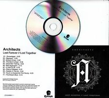 ARCHITECTS Lost Forever // Lost Together 2014 UK numbered 11-track promo CD