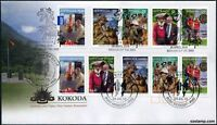 2010 FDC Kokoda - Australia & Papua New Guinea Remember. PNG Joint Issue Stamps