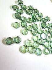 16 Light Green Decorative Glass Pebbles Rocks Cabochons Transparent-3 ounce