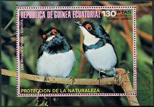 Equatorial Guinea 1973 Birds Cto Used M/S #E4077