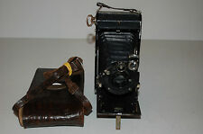 Zeiss Ikon Ikonta 520/2 With Novar 1:6.3  F=10.5 Lens Serviced. No.001140 + Case
