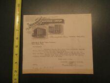 Security Warehouse Company Minnesota 1918 Invoice Letterhead 662