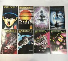 WARLOCK 5 Aircel #4, 7, 14, 15, 16, 18, 19, 21 VG+ Vintage 1989 Comic Book Lot
