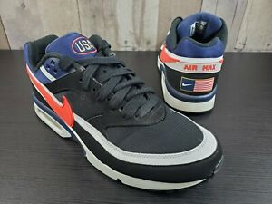 Nike Air Max BW Premium USA Olympic American Flag Shoes 819523-064 Men's Size 10