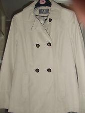 Cotton Blend Patternless Coats & Jackets for Women