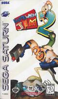 Earthworm Jim 2 For Sega Saturn Vintage 4E
