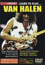 Lick Library: Learn To Play Van Halen Guitar 2 x DVD (Region 0) Instrumental Tut