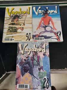 VAGABOND 28,30,31 prima edizione