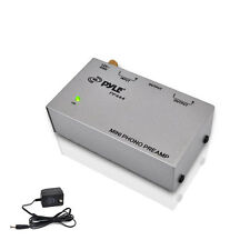 Pyle PP444 Amplifier Ultra Compact Phono Turntable Preamp