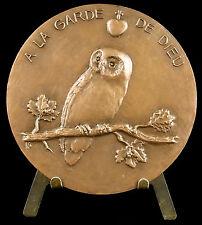 Médaille royaliste à Georges Cadoudal Chouan la garde de Dieu cri de la chouette