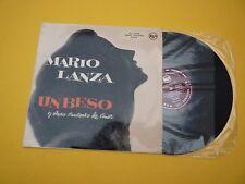 Mario Lanza un beso y otras canciones de amor SPAIN 1958 (EX-/M-) 3L16102  LP ç