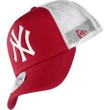 10531935-REDWHT, Gorra New Era – Mlb Clean Trucker New York Yankees rojo/blanco,