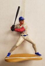 Ivan Rodriguez Texas Rangers MLB Baseball Christmas Tree Ornament Gray Jersey