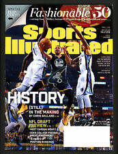 Stephen Curry Autographed Sports Illustrated Magazine Warriors Beckett S76344