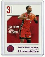 DWYANE WADE Heat 2018-2019 Panini CHRONICLES RETAIL PINK PARALLEL #32