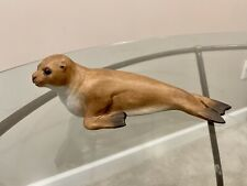Vintage Common Seal Figurine - Aynsley Fine Porcelain - Made in England 1975