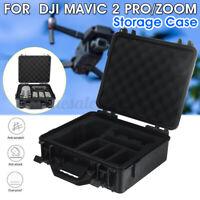 Shockproof Portable Carry Hard Case Storage Bag Black For DJI Mavic 2 Pro / Zoom