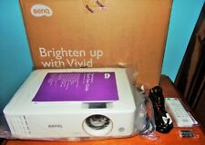 BenQ TH585 1080p DLP Projector Mint Condition Beautiful Image 272 Total Hours !