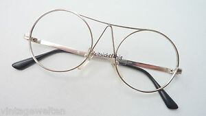 Glasses Frames Round Glasses Metal Rimmed Very Unusual Silver Size S