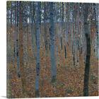 ARTCANVAS Beech Grove I 1902 Canvas Art Print by Gustav Klimt