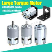 Motor Large Torque Gear Motor 775/795/895 Motor Bracket DC 12V-24V 3000-12000RPM