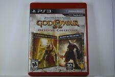 God of War: Origins Collection PS3 (PlayStation 3) Case + Game