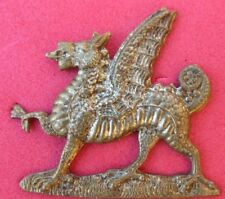 MONMOUTHSHIRE  REGIMENT <> BRITISH  ARMY  <>   WW I  SWEETHEART BROOCH  <>  USED