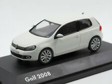 VW GOLF 6 GT HIGHLINE 1.4 TSI 3DR 2008 CANDY WHITE 1:43 SCHUCO (DEALER MODEL)